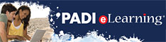 We offer PADI eLearning courses