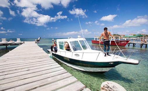 Splash In Resort Dive Boat